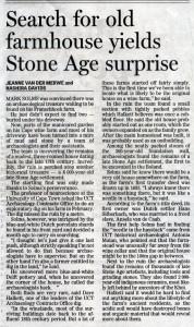 Sunday Times - Dig - 28 Aug 05
